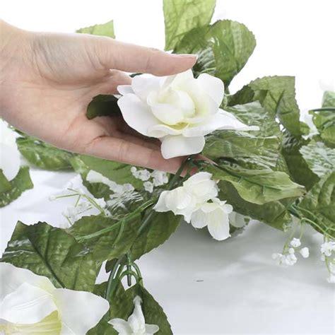 Gardenia Garland Artificial Gardenia And Garland Garlands Floral