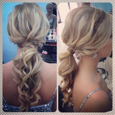 ponytail pageant hair prom updo with headband braid hair what i do