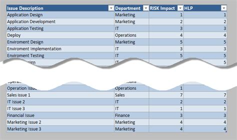 Project Risk Template Excel Project Management Just Do It Project Template