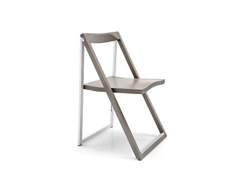 skip aluminium and wood folding chair calligaris cs 207