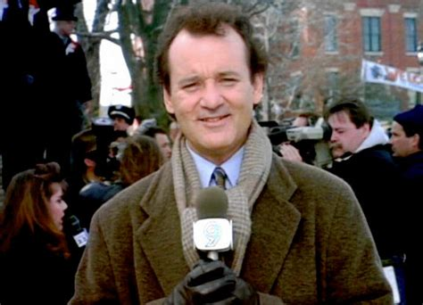 groundhog day phil connors why did bill murray repeat his groundhog day in the