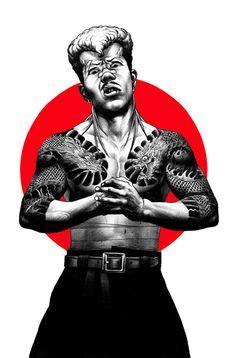yakuza tattoo photoshop brushes 1000 images about art shohei otomo a k a hakuchi on