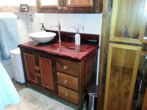 reclaimed barn wood bathroom vanities traditional