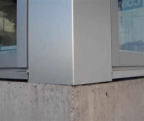 concrete curtain wall curtain wall corner decorate the house with beautiful