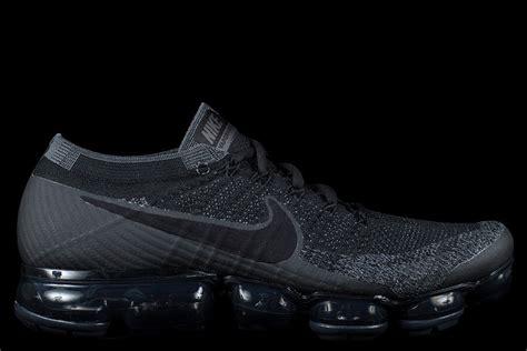 Cdg X Nike Vapormax Flyknit All Blacl nike air vapormax flyknit black anthracite grey