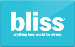 Bliss Gift Card Discount - sell bliss gift cards raise