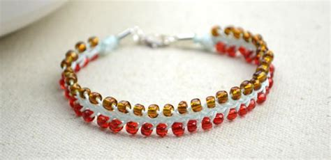Easy Handmade Bracelets - 16 easy seed bead bracelet patterns guide patterns