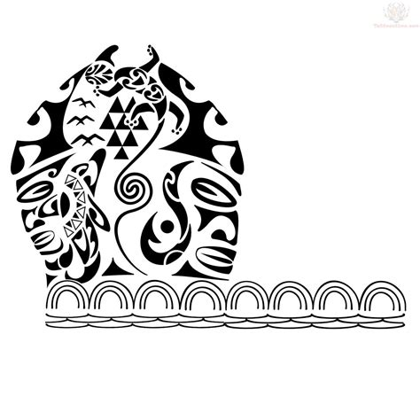 polynesian tiki tattoo designs hawaiian tiki armband design