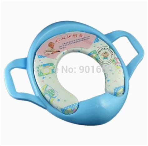 Soft Baby Potty Seat With Handle Karakter Sofia Toilet baby potty soft padded toilet seat with handles splash protector in potties from