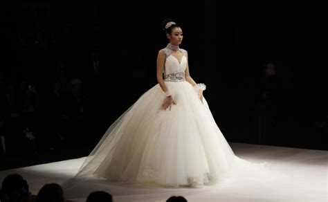 Wedding Dresses From China by China Fashion Week Haute Couture Wedding Dresses Grace