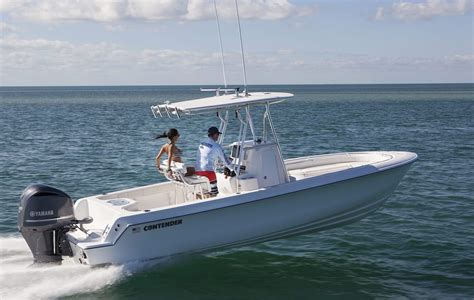visboot diesel sport series boats contender luxury family fishing boats