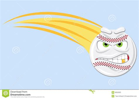 Mean Fast Ball Stock Photos Image 8262903