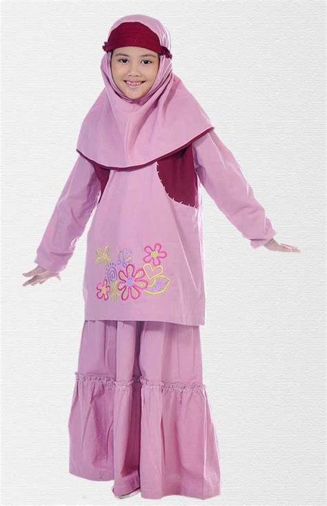 Baju Muslim Anak Perempuan Yg Lucu Baju Muslim Anak Terbaru Dan Bagus Lembut Info Baju