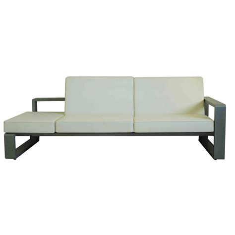 half couch dainfern 2 5 sofa module left or right patio life
