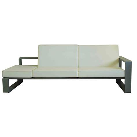 half futon dainfern 2 5 sofa module left or right patio life