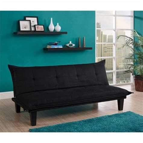 Convertible Sofas And Futons by Convertible Futon Sofa In Black 2038019