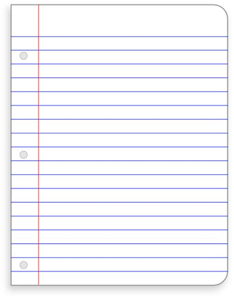 lined paper template clipart clipart suggest