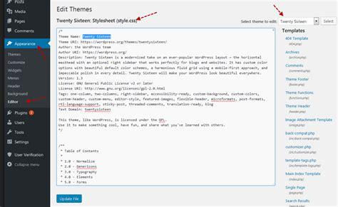 wordpress theme editor add file how to highlighted author comments for wordpress post