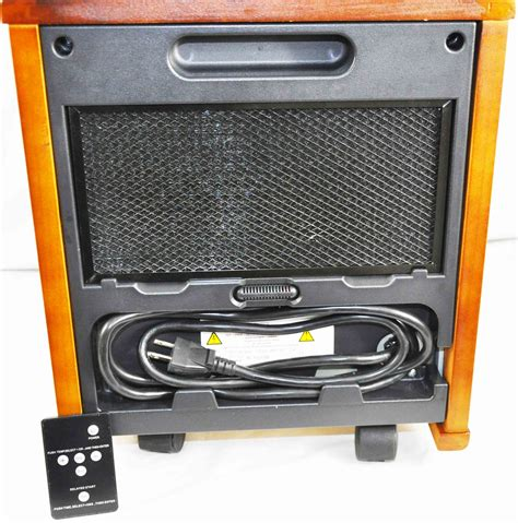 comfort furnace infrared heater manual comfort furnace electric heater xl infrared walnut