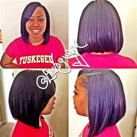 Sew In Bob Hairstyles by Sew In Bob Protective Styles Bobs My Hair