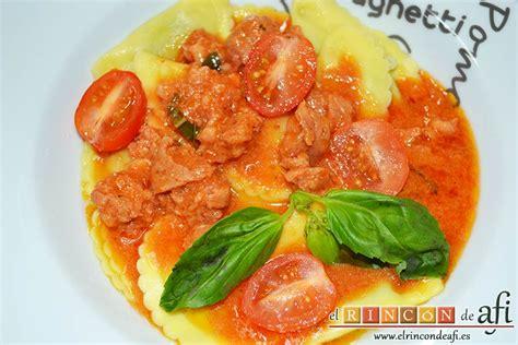 pasta fresca al autntico 8494193422 pasta fresca al huevo con salsa de chorizo