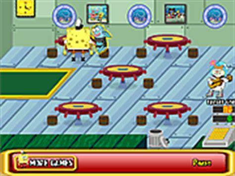 giochi spongebob in cucina giochi di spongebob 1