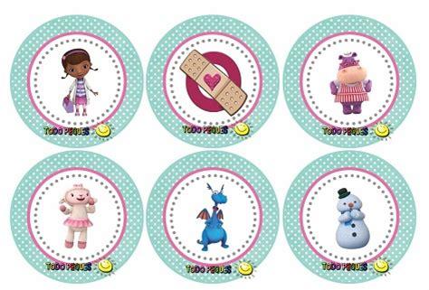 etiquetas circulares y toppers de frozen para decorar etiquetas circulares y toppers para cupcakes de dra