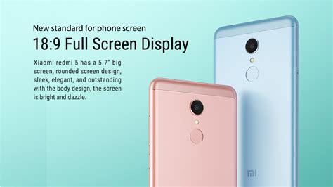 Xiaomi Redmi 5 2gb 16gb Black Hmi R5 16 Bla xiaomi redmi 5 5 7 inch 2gb 16gb smartphone black