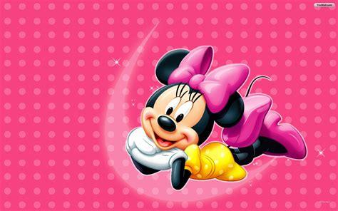 wallpaper minnie pink pink minnie mouse wallpapaer cartoon