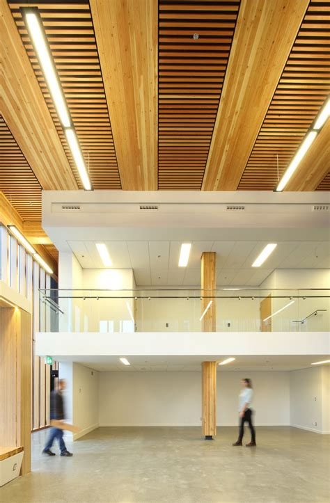 interior building design innovative detail wood innovation and design centre