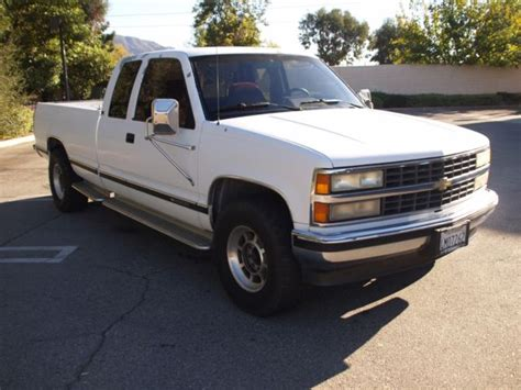 car owners manuals for sale 1992 chevrolet 2500 engine control 1992 chevrolet silverado 2500 87k low orig miles barn yard rare find cali truck classic