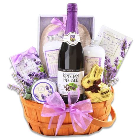 spa gifts lavender spa gift basket all about gifts baskets