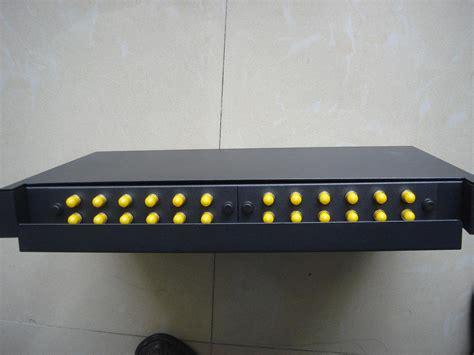fiber optical patch panel sc interface 24 port sm with