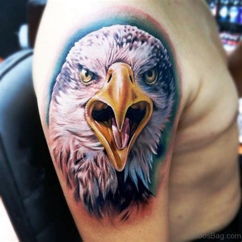 eagle tattoo on shoulder blade eagle tattoo on shoulder blade