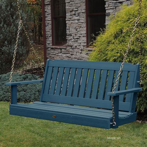 polywood swing polywood porch swings for style color and durability