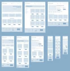 ux design templates responsive wireframes wireframes ux design