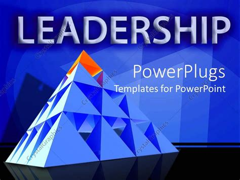 free leadership ppt themes powerpoint template leadership theme with red triangle on