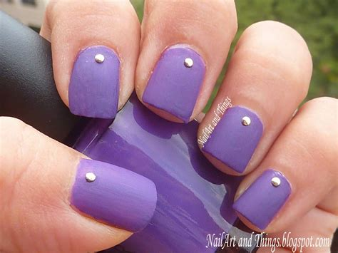 Simple Nail Pics by Nailart And Things Simply Studded Simple Nail