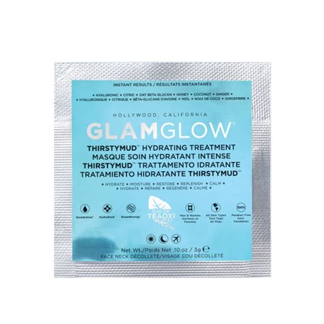 Masker Glamglow Sachet glamglow thirstymud 5g sachet free gift free delivery
