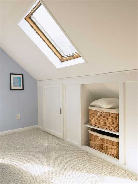 Bedroom Eaves Storage Eaves Storage On Loft Conversion Bedroom Loft