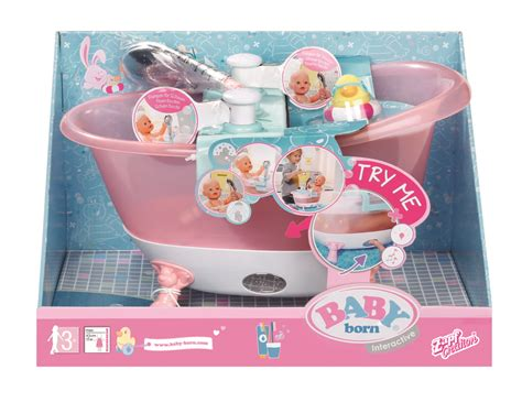 Baby Born Interactive Badewanne by Baby Born 174 Interactive Badewanne Schaum 822258 Real