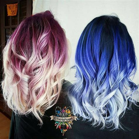 complementary color of pink 1000 ideas about trendy hair colors on pinterest trendy