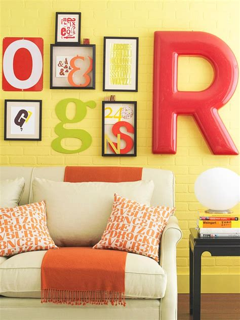 Letter Decoration Ideas From A To Z Of Decorating Inspired Decorations With Letters My Desired Home