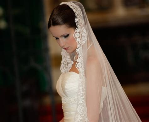 Wedding Hairstyles Cathedral Veil by Bridal Hairstyles With Veils She Said
