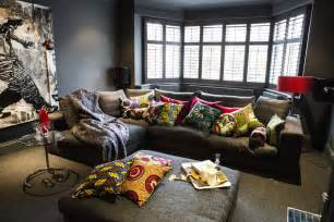 home design decoration elegant home decor with african textile bellafricana