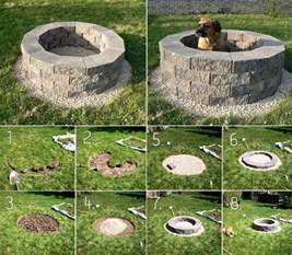 Build Your Own Backyard Fire Pit by Pin By Alyssa Madsen On Great Out Doors Pinterest