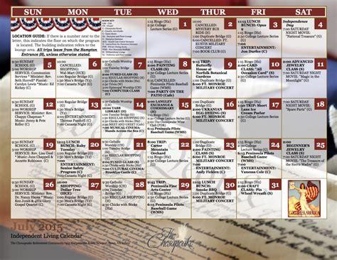 Current Calendar Current Calendar Of Events The Chesapeake A Continuing