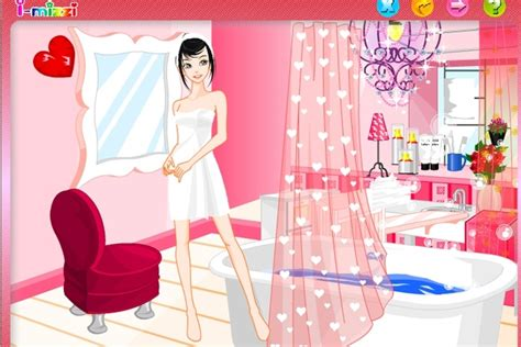 Girls Bathroom Game Luxurious Bathroom Decoration Puzzle Game Decorating