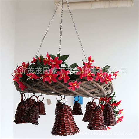 home decor floral arrangement wicker by flowerbootsligaasere aliexpress com buy willow branch flower hanging basket