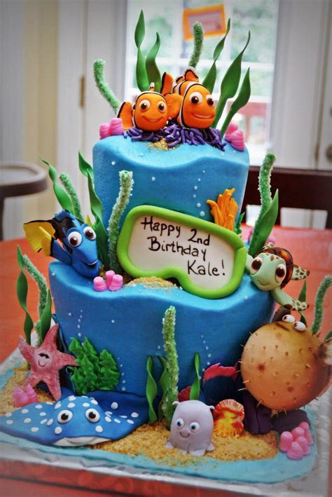nemo cake template 25 best ideas about aquarium cake on fish